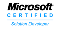 Logo to show that GSM Barcoding is Microsoft certified.