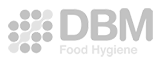 Logo of GSM Barcoding's client, DBM.