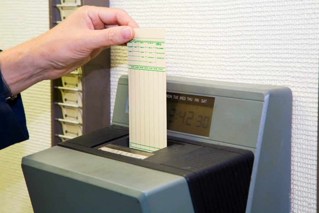 Before there was advanced stock control solutions we used systems such as the punch card